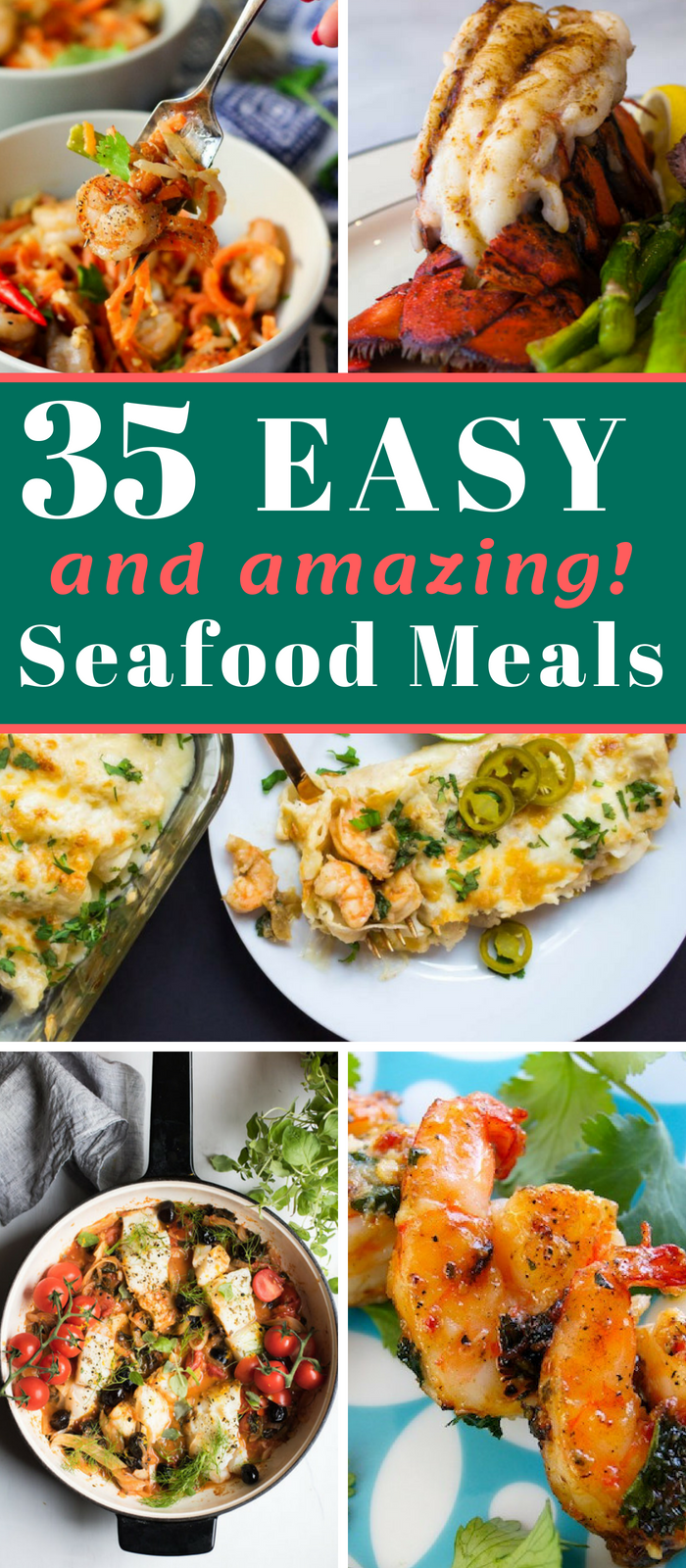 Easy Seafood Recipes