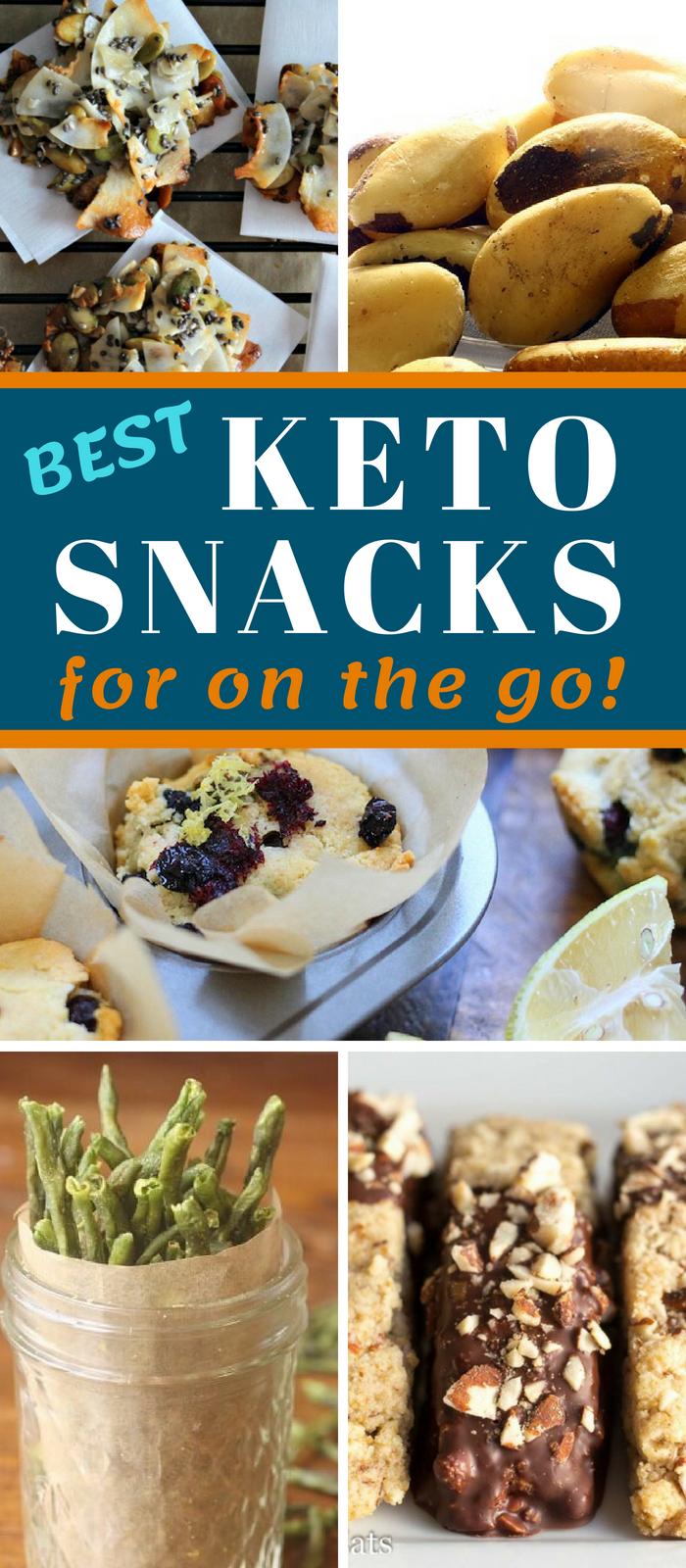 BEST KETO SNACKS FOR ON THE GO