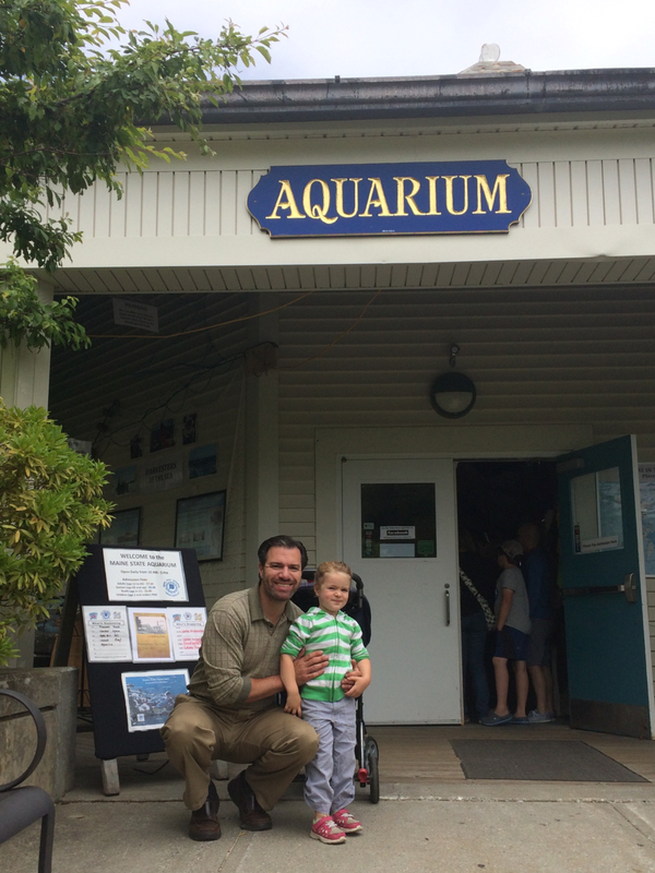 Entrance to Maine State Aquarium