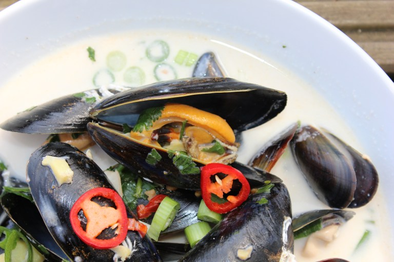 Thai Mussels recipe