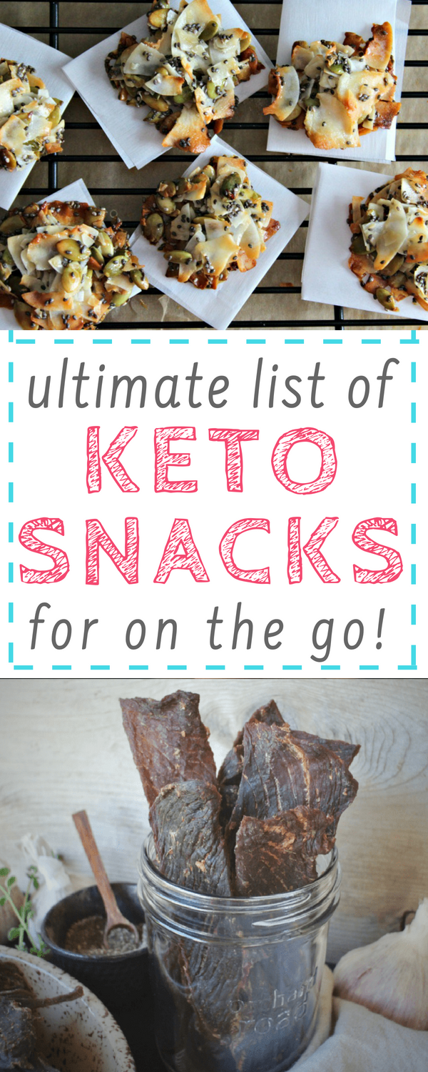 keto snacks for on the go