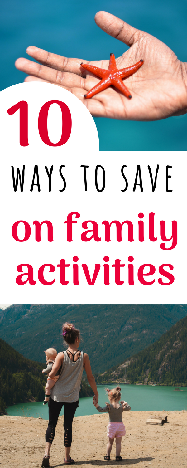 ways to save on family activities