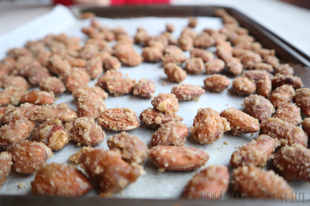 Traditional Brown Sugar Candied Almonds