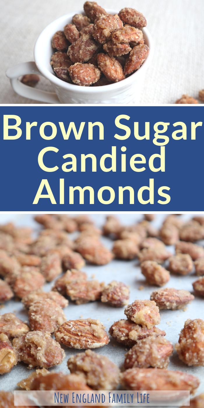 Brown Sugar Candied Almonds recipe - German candied almonds